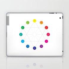 Simple Color Wheel Laptop & iPad Skin