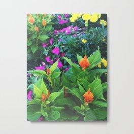 Pleural Floral Metal Print