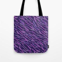 Abstract Zebra NET Tote Bag