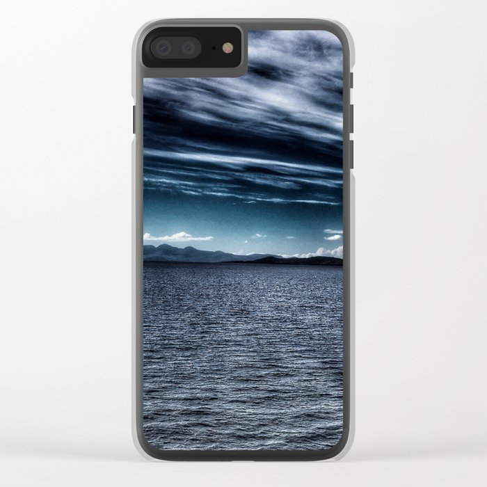 Speed Bonnie Boat Clear iPhone Case