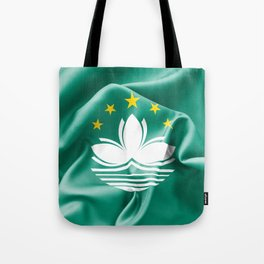 Macau Flag Tote Bag