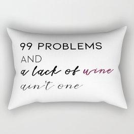 99 problems Rectangular Pillow