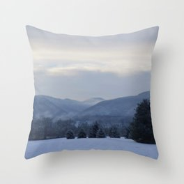 Winter Seclusion Throw Pillow