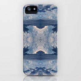 Nordic Blues iPhone Case