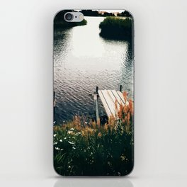 Flower Lake iPhone Skin
