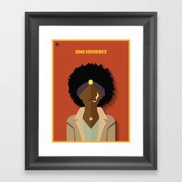 J.Hendrix Framed Art Print