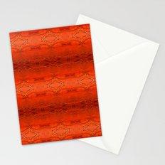 Rustic Orange Geometric Southwestern Pattern - Luxury - Comforter - Bedding - Throw Pillows - Rugs Stationery Cards