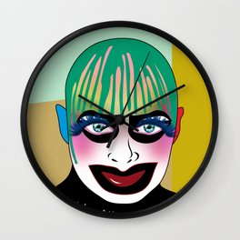 leigh bowery Wall Clock