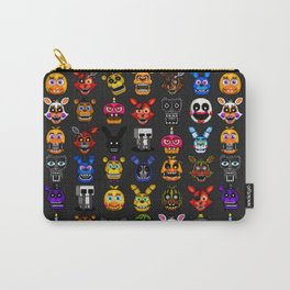 FNAF pixel art Carry-All Pouch