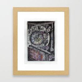 The Clock Tower Framed Art Print