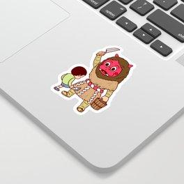Baby Faced Namahage Sticker