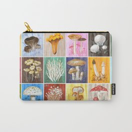 Mushroom Study Carry-All Pouch