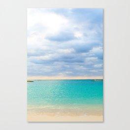 Tulum Sunrise Canvas Print