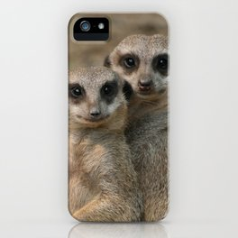 Meerkat_20170901_by_JAMFoto iPhone Case