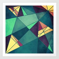 starry night Art Prints featuring Starry Night by VessDSign