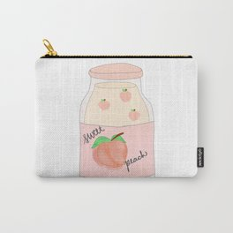 Peach-ity Drink-ity Carry-All Pouch