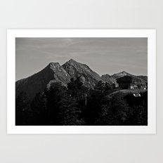 Wanna live there ? Art Print
