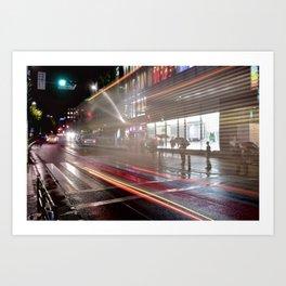 Takeshita Exit; Harajuku Station Art Print