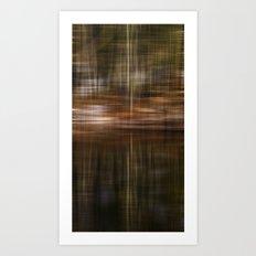 Upstate NY Woods Art Print