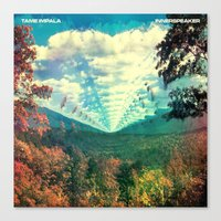 tame impala Canvas Prints featuring Tame Impala by Jon Rast
