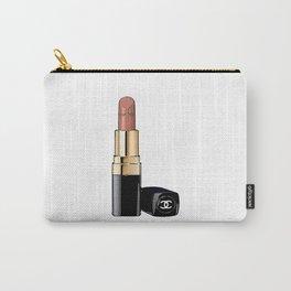 Red Lipstick Coco Print Coco Poster Coco Lipstick Fashion Print Fashionista Gift Women Fashion Art Carry-All Pouch