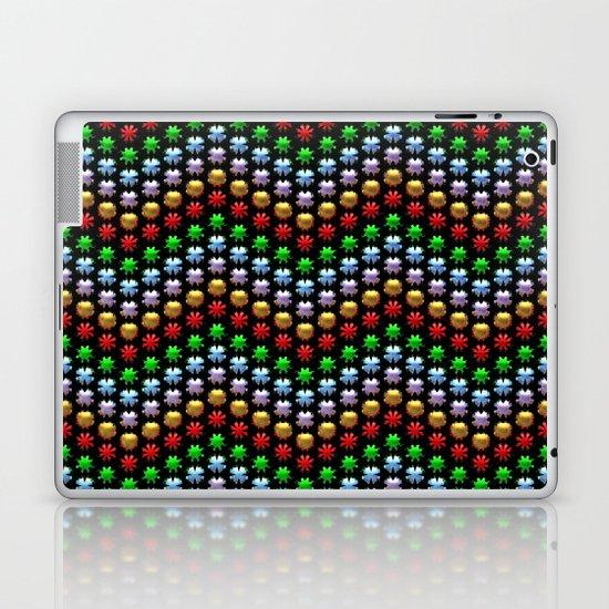 Beaded Chevrons Laptop & iPad Skin
