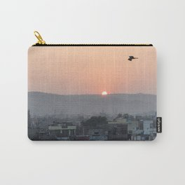 Birds Fly Over The Sun Carry-All Pouch