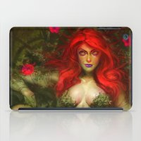 poison ivy iPad Cases featuring Poison Ivy by MATT DEMINO