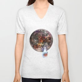 Give a Drop, and Take This Ocean Unisex V-Neck