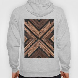 Urban Tribal Pattern No.3 - Wood Hoody