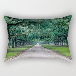 Tangled Trees Rectangular Pillow