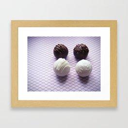 Cake Truffles: Classics Edition Framed Art Print