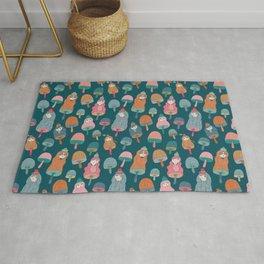 Pattern Project / Mushroom Girls Rug