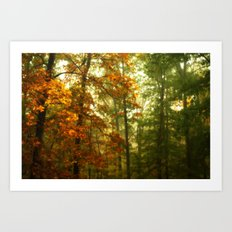 Mysterious Fall Art Print
