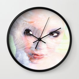 Snow Fairie Wall Clock