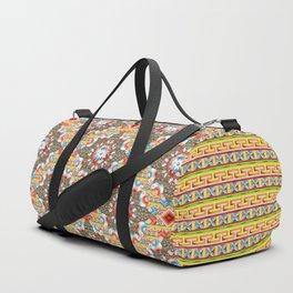 Heraldic Lovebirds Duffle Bag
