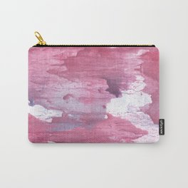Pale violet red abstract watercolor Carry-All Pouch