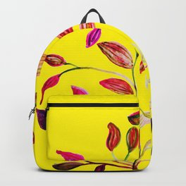 Red and Green Leaves! Yellow Sunshine! Backpack