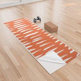 Brush Stroke Staccato Yoga Towel