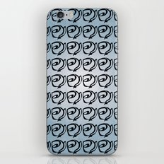 Rows of Flowers, Sky iPhone & iPod Skin