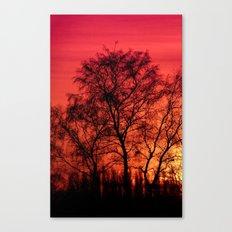 Edge of Sunset Canvas Print