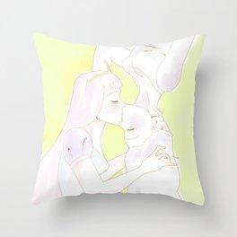 Bubbline Doodle Throw Pillow