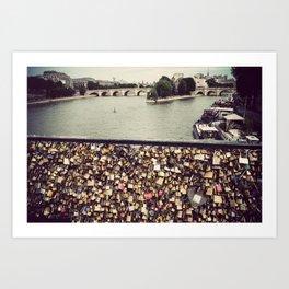 Pont des Art - Paris Art Print
