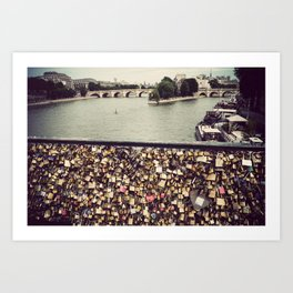 Pont des Art - Paris Art Print