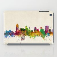 tennessee iPad Cases featuring Memphis Tennessee Skyline Cityscape by artPause