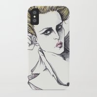 rogue iPhone & iPod Cases featuring Rogue by Rachel E Murray