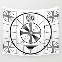 Indian-Head Test Pattern Wall Tapestry