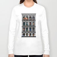 donkey kong Long Sleeve T-shirts featuring Donkey Kong City by Ryan Huddle House of H