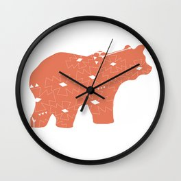 In the Wild Wall Clock
