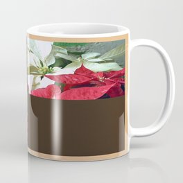 Mixed color Poinsettias 3 Blank Q3F0 Coffee Mug